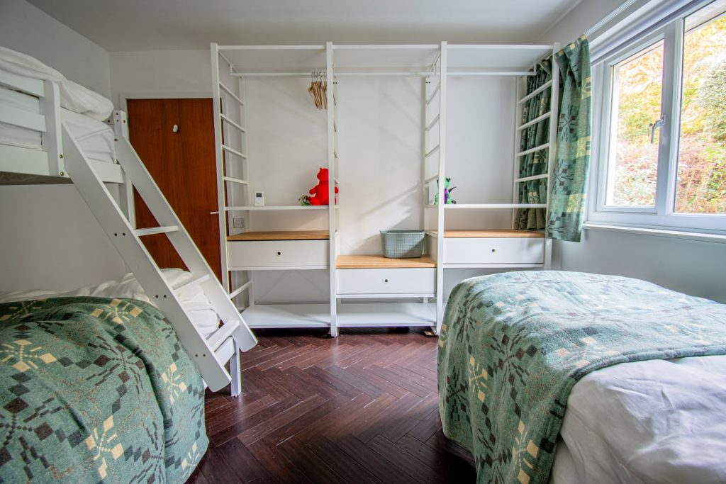 The Family Room with bunk beds