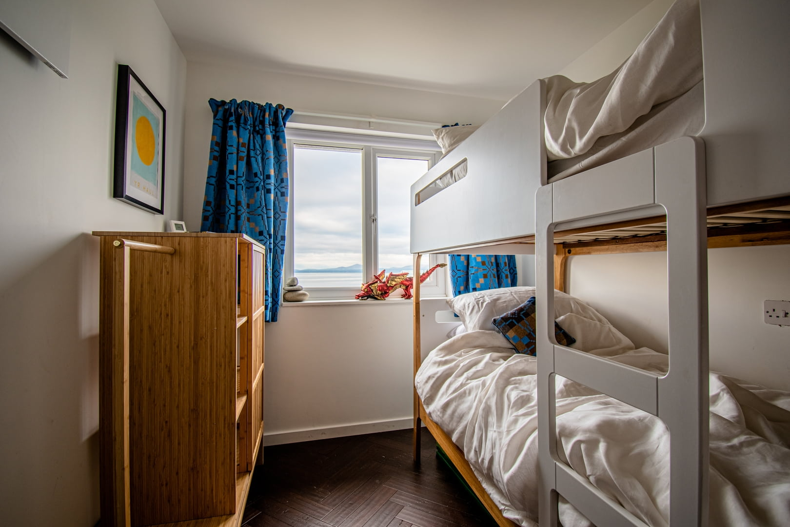 The Bunk Room with sea views